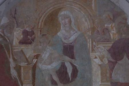 Matteo da gualdo chiesetta del Trebbio 450x300 Storia del Trebbio