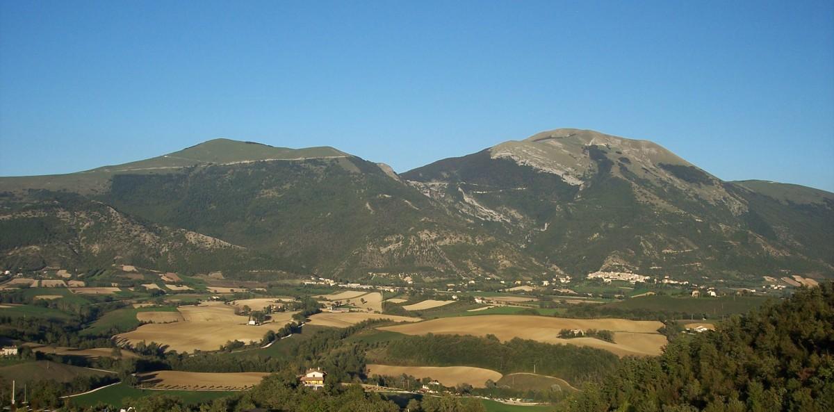 panorama cucco 2 Itinerari