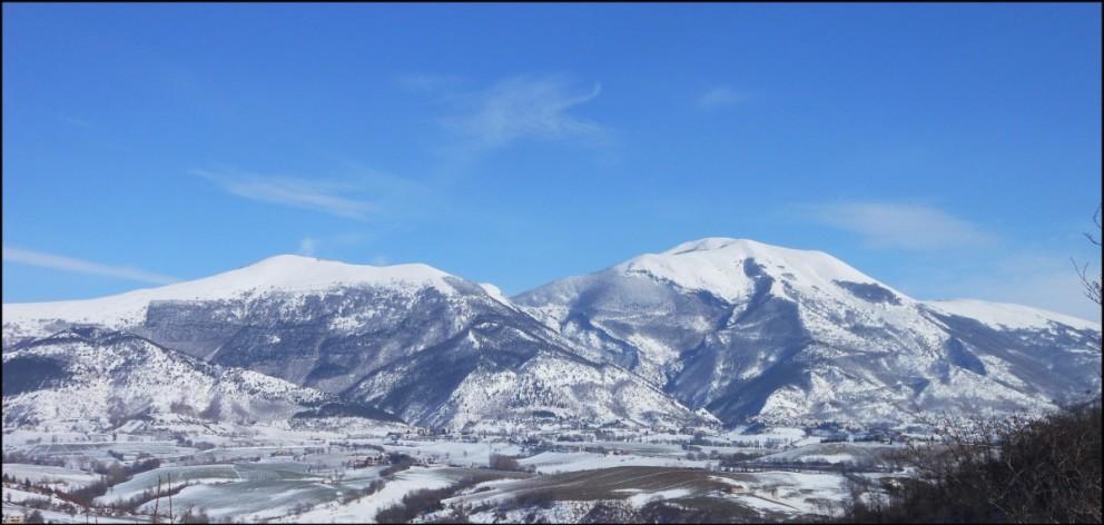 Monte Cucco d'inverno